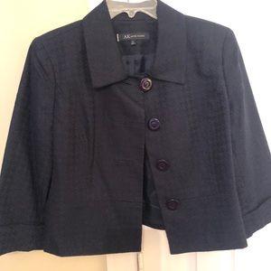 AK Anne Klein Cropped jacket